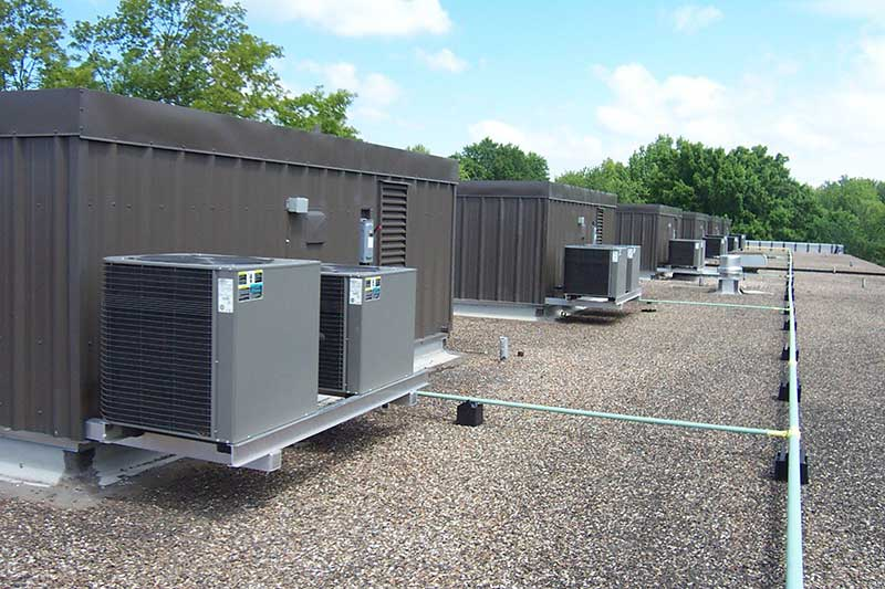 Multizone Rooftop HVAC