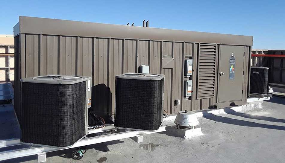 Mechanical Equipment Screens : Custom multizone hvac manufacturer rtu pmz rooftop